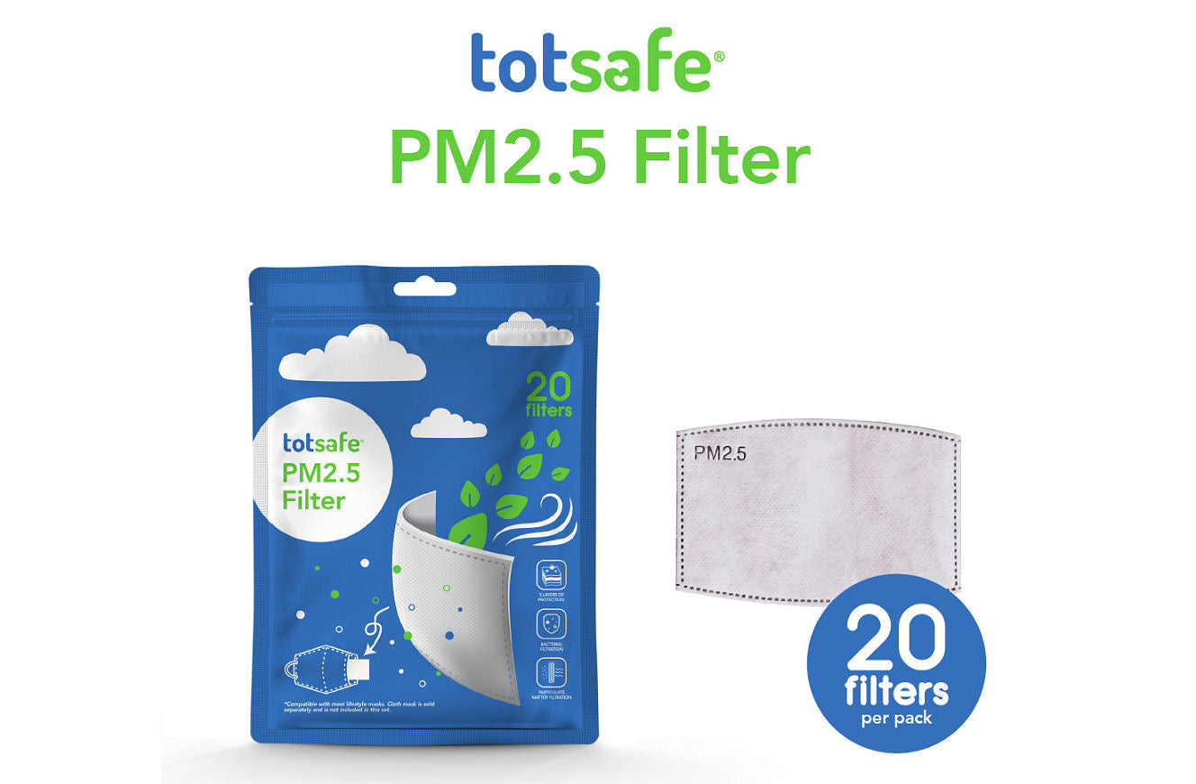 Totsafe PM2.5 Filter (Pack of 20pcs)