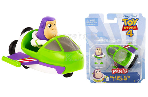 Disney Pixar Toy Story Minis Buzz Lightyear and Spaceship