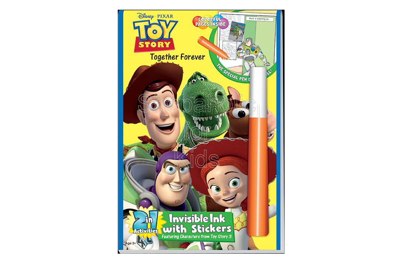 "Disney/Pixar Toy Story - ""Together Forever"", 2 in 1 Activity Book - Shopaholic for Kids"