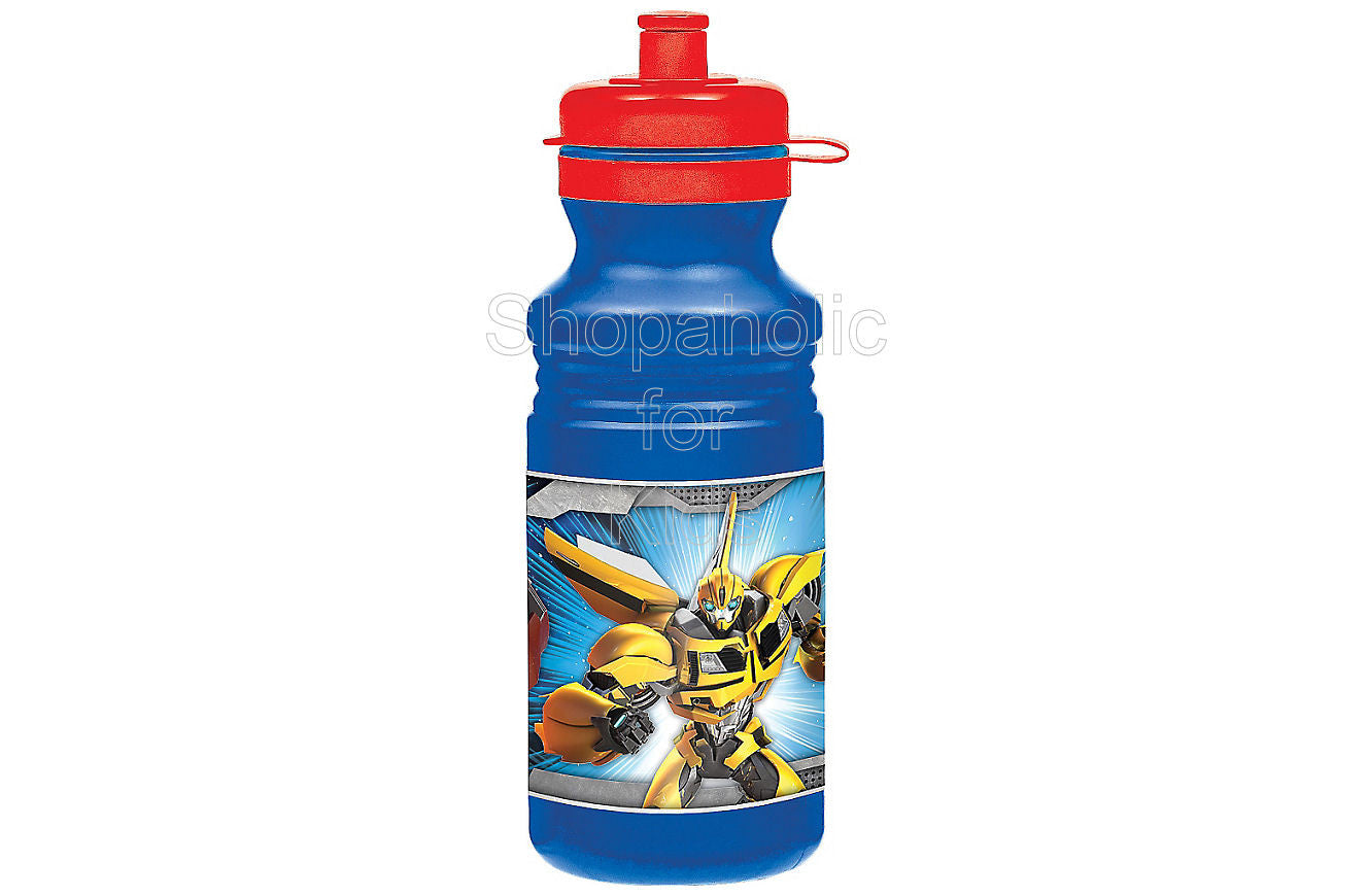 Transformers Water Bottle 18oz