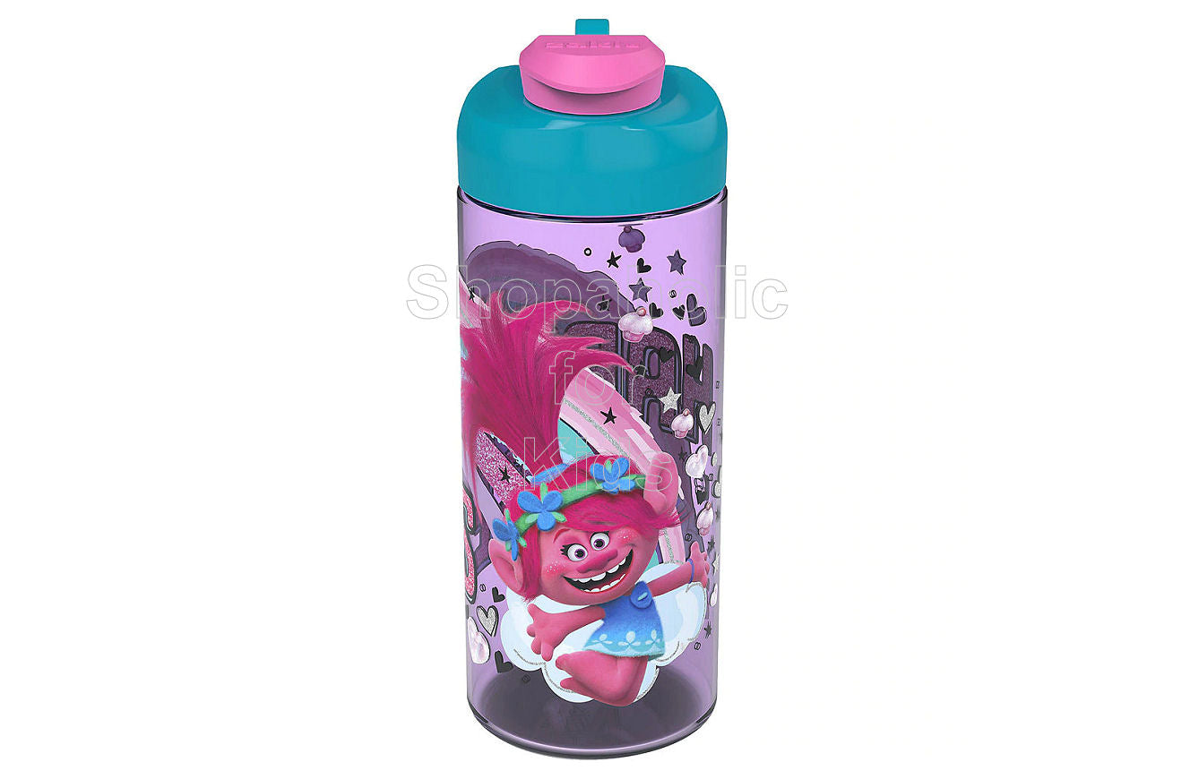 Trolls Water Bottle - Shopaholic for Kids
