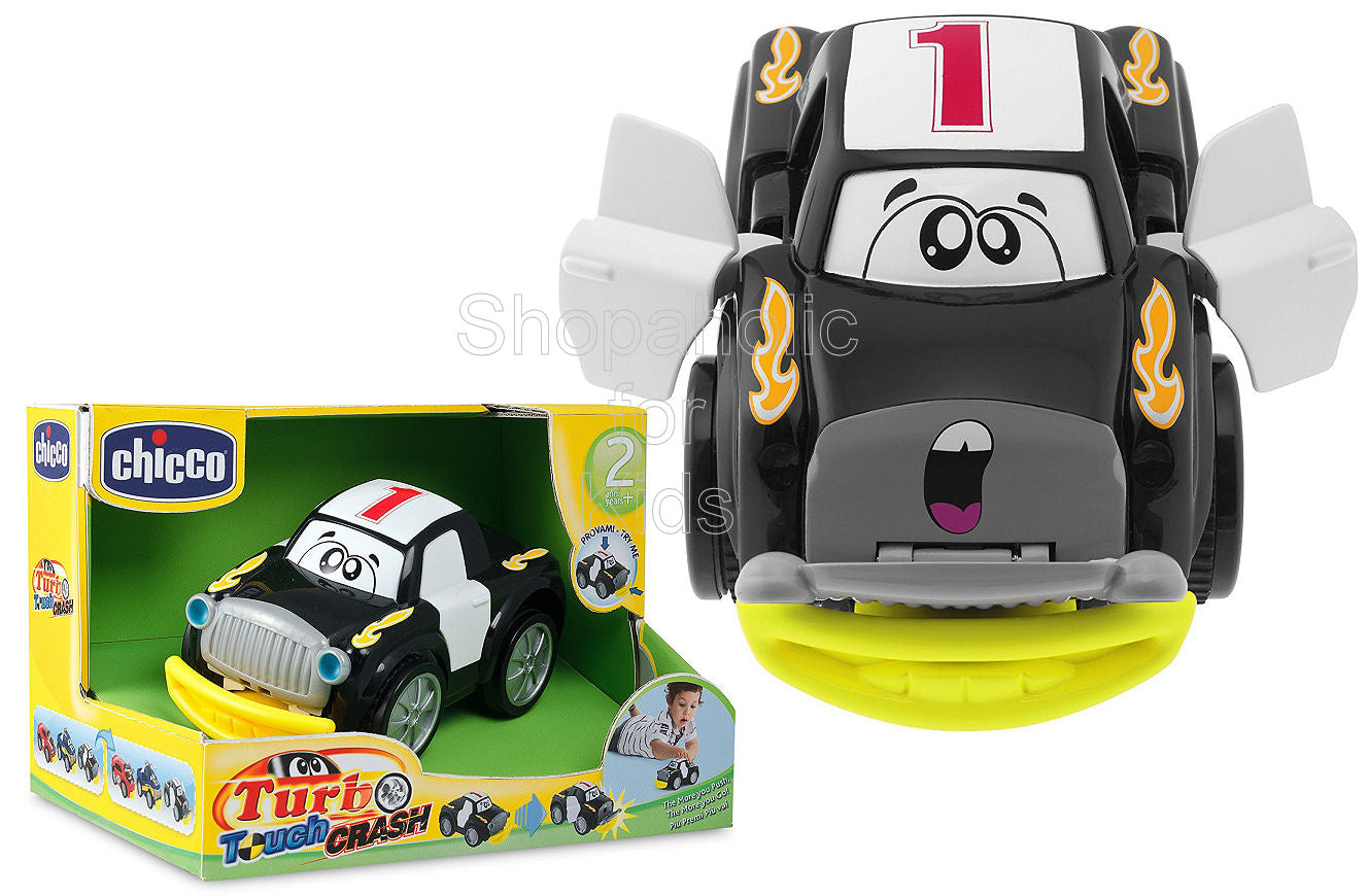 Chicco Turbo Touch Crash Derby Toy Vehicle - Black - Shopaholic for Kids