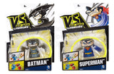 VS Rip-Spin Warriors Superman Warrior and Batman Warrior, Pack of 2 - Shopaholic for Kids