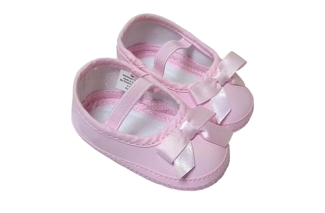 Wee Kids Baby Girl Pink Shoes, Newborn (0-3mos) - Shopaholic for Kids