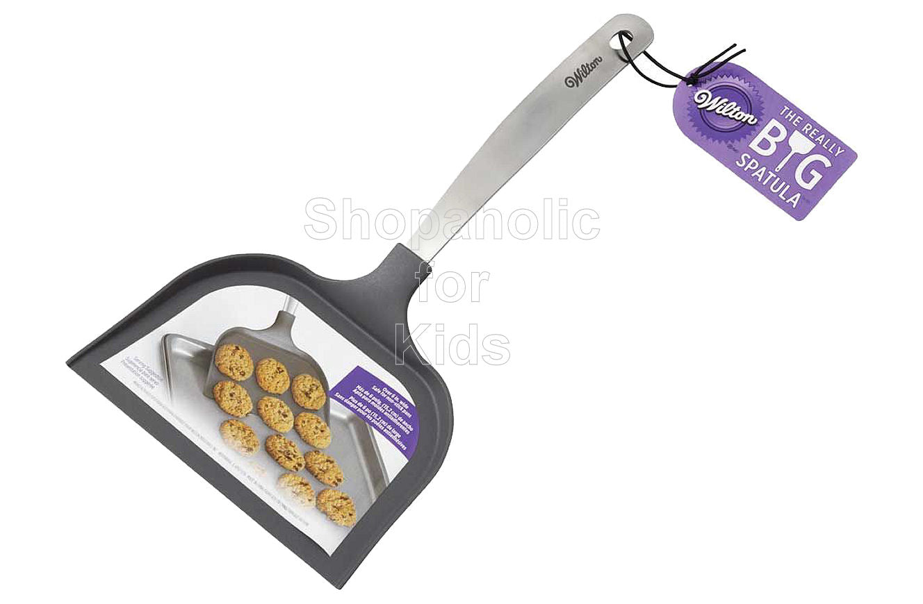 Wilton The Really Big Cookie Spatula, Grey