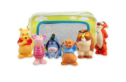 Disney Winnie the Pooh and Pals Bath Toy Set