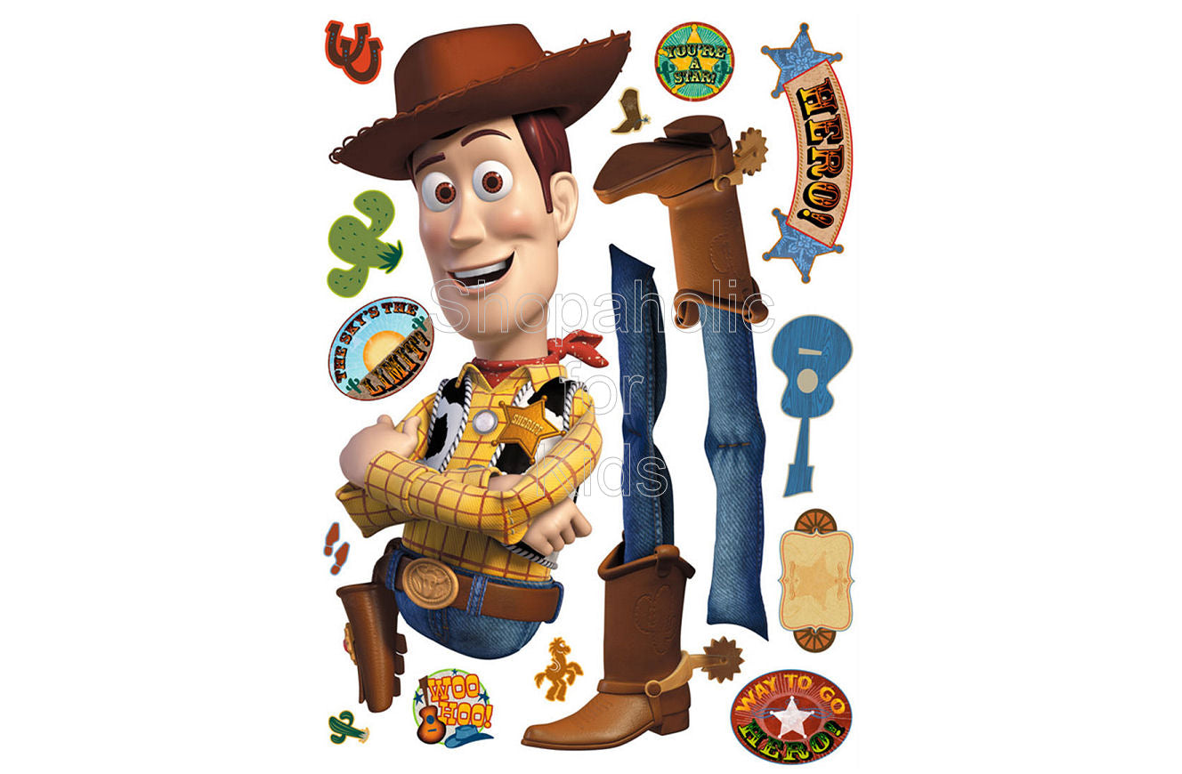 Toy Story Woody Sticker - Shopaholic for Kids