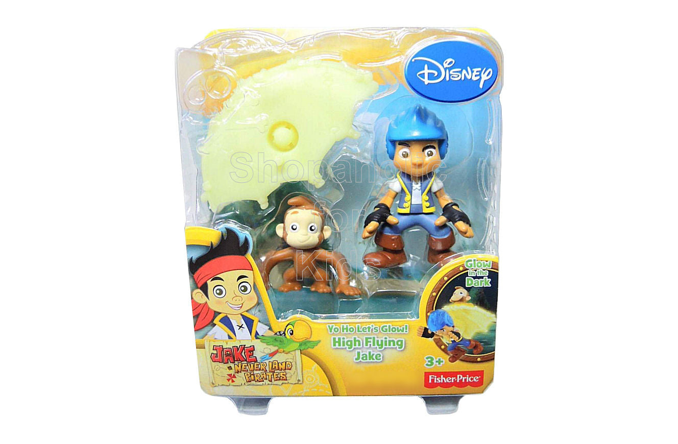 Jake and the Neverland Pirates YO HO! Let's Glow Figure - Shopaholic for Kids