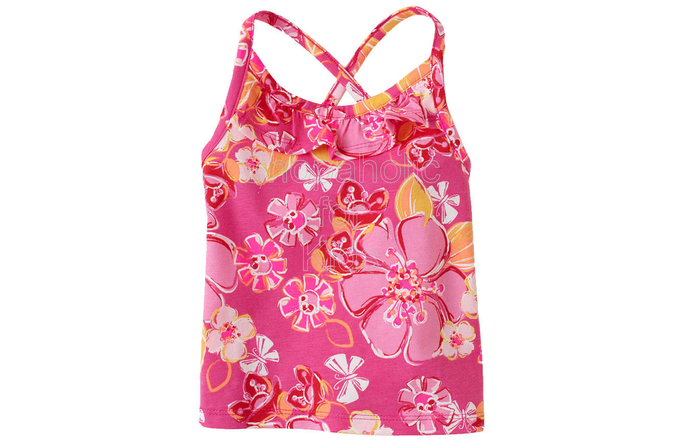 Children's Place Active Print Racer Back - Pink Fizz - Shopaholic for Kids