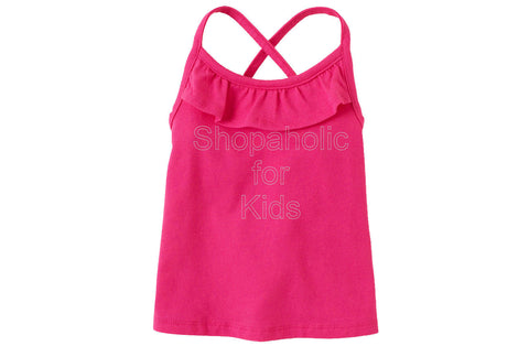 Children's Place Active Solid Racer Back - Pink Fizz