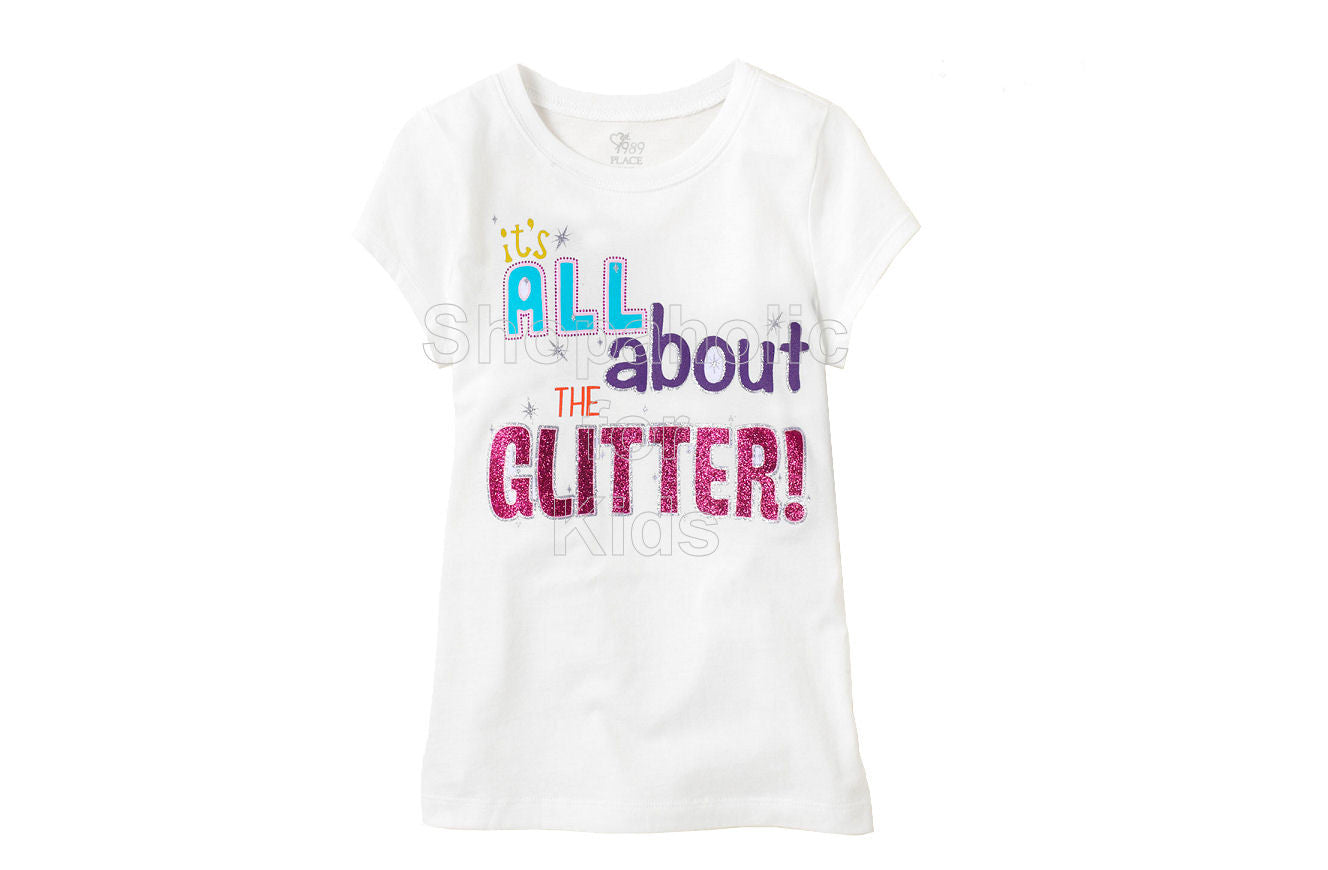 Children's Place All About Glitter - White - Shopaholic for Kids