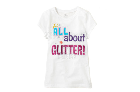 Children's Place All About Glitter - White