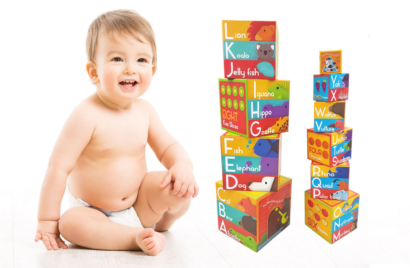 Lille Alphabet Nesting and Stacking Blocks - Shopaholic for Kids