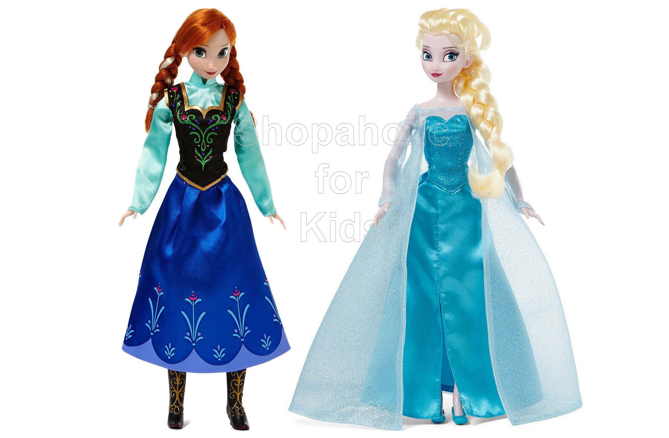 Frozen - Anna and Elsa Classic Doll Set - Shopaholic for Kids
