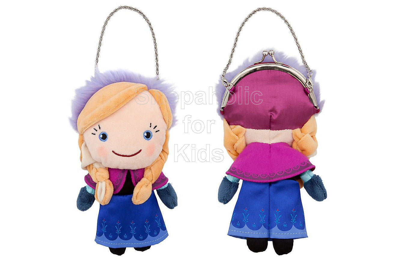 Frozen Anna Plush Purse - Shopaholic for Kids