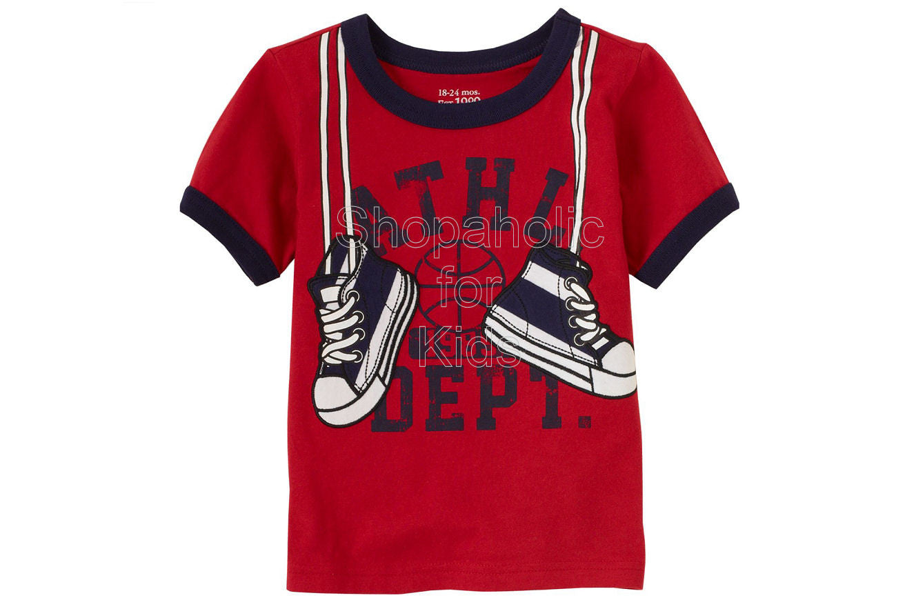 Children's Place Applique Active - Radical Red - Shopaholic for Kids