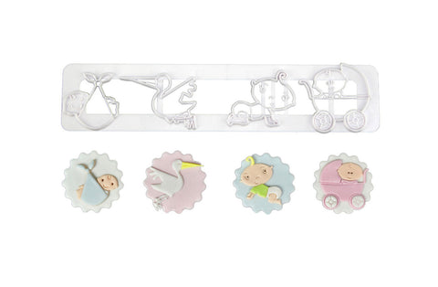 Delish Treats Cookie Cutter - Baby
