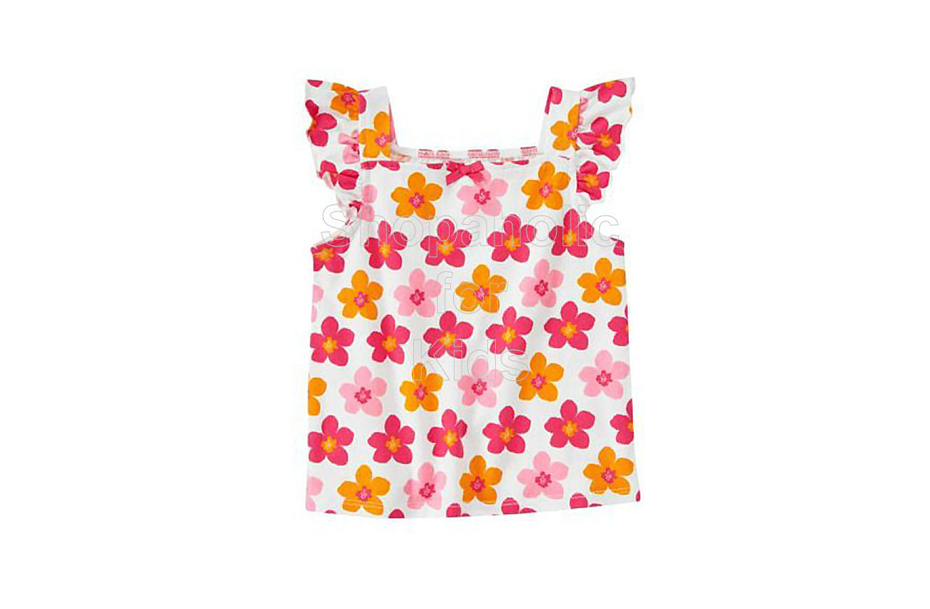 Crazy8 Blossom Flutter Tank Top - Shopaholic for Kids