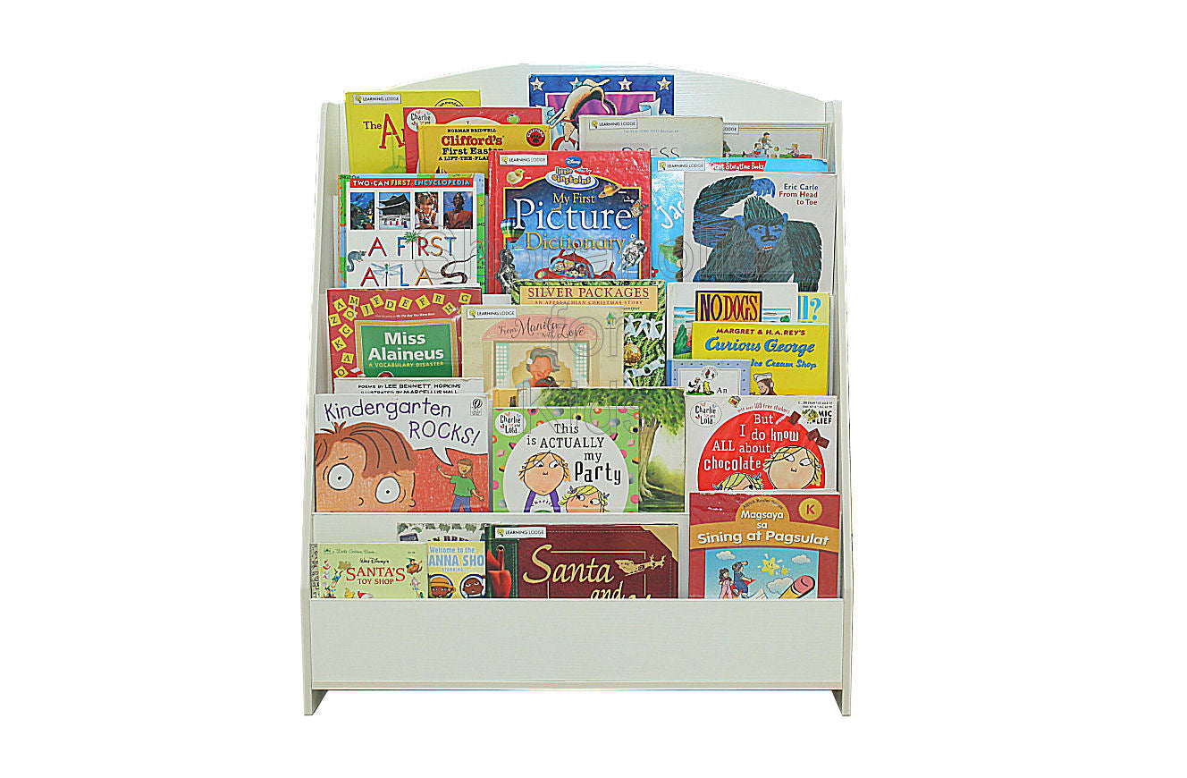 Book Shelf 5 Layers - White - Shopaholic for Kids