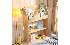 Book Shelf - Wood - Shopaholic for Kids
