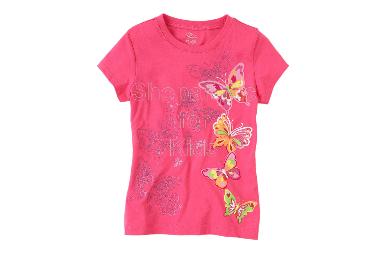 Children's Place  Butterfly Graphic - Starburst - Shopaholic for Kids