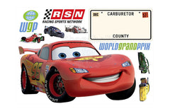 Disney Cars Sticker (World Grand Prix) - Shopaholic for Kids