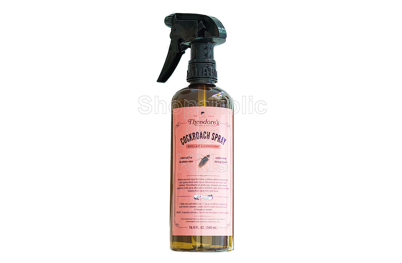 Theodore's Home Care Pure Natural Cockroach Repellant and Disinfectant - Shopaholic for Kids