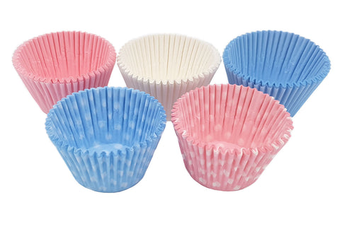 Delish Treats Cupcake Liners  (5cm bottom x 3cm height) - Pack of 250pcs
