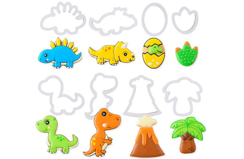 Delish Treats Cookie Cutter - Dinosaurs