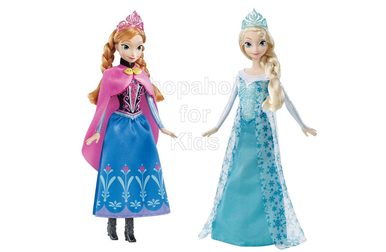 Frozen Elsa and Anna Classic Dolls Set - Shopaholic for Kids