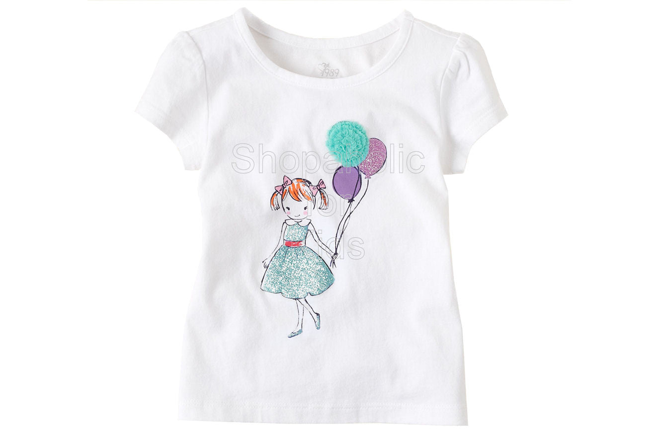 Children's Place Dressy Graphic Top - Shopaholic for Kids