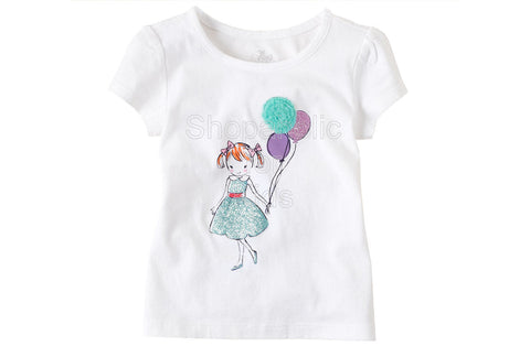 Children's Place Dressy Graphic Top