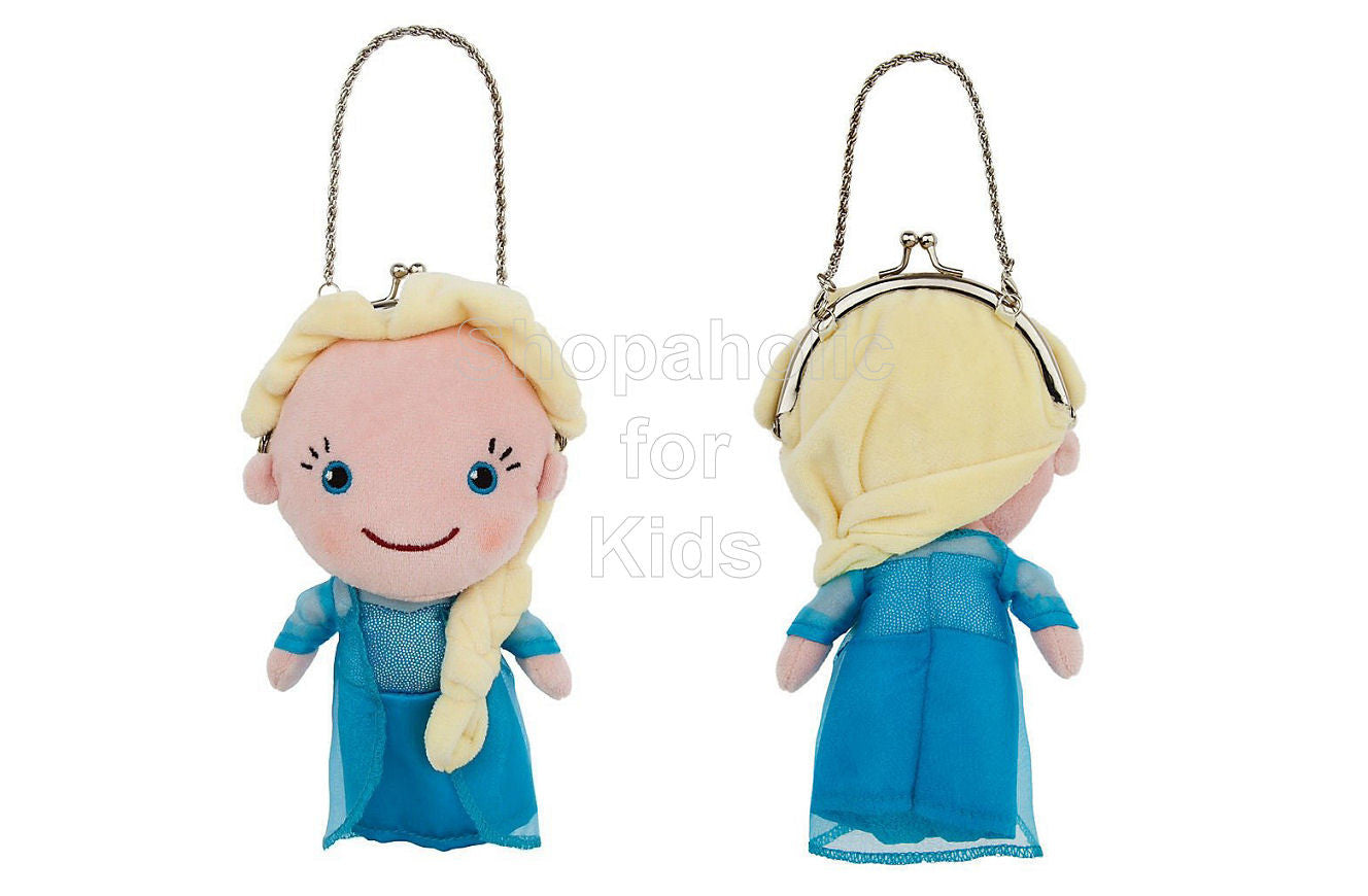 Frozen Elsa Plush Purse - Shopaholic for Kids