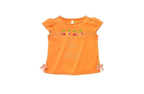 Gymboree Cherry Baby Orange Shortsleeves Top