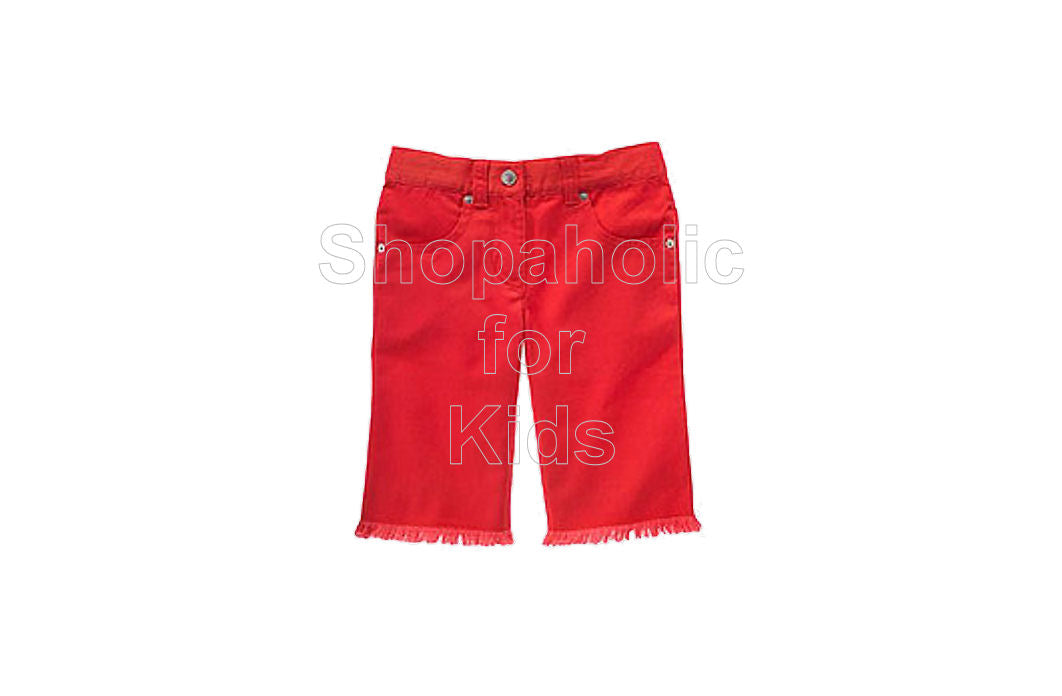 Gymboree Cherry Baby Red Bermuda Length Shorts