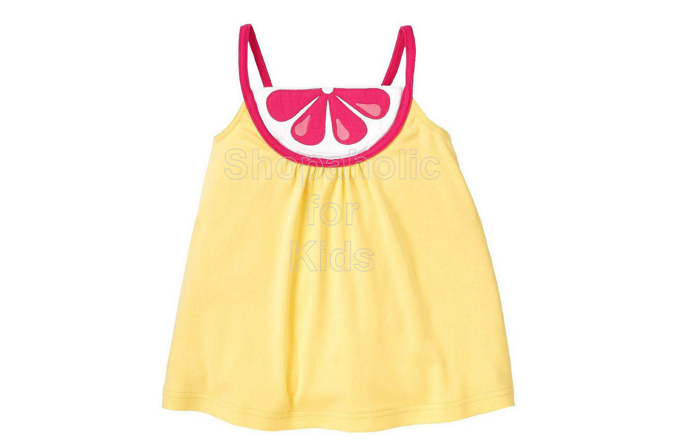 Gymboree Citrus Cooler Swing Top - Shopaholic for Kids