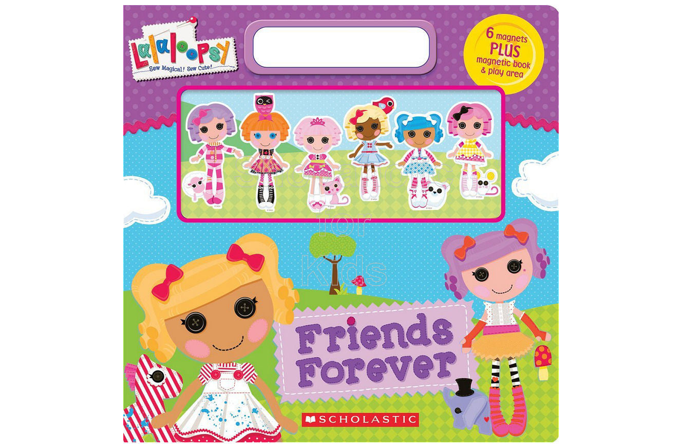 Lalaloopsy: Friends Forever Magnetic Book - Shopaholic for Kids