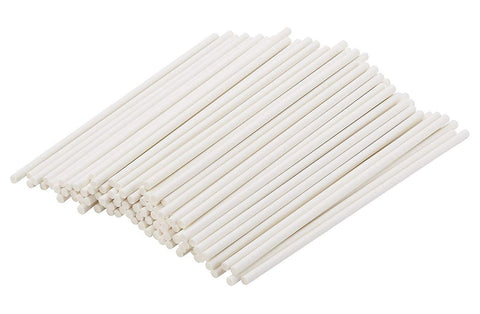 Delish Treats Paper Lollipop Sticks (10cm) - Pack of 100pcs