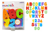Munchkin Learn Bath Letters & Numbers, Primary - Shopaholic for Kids