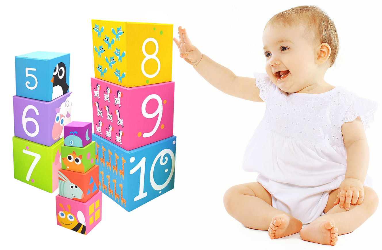 Lille Number Nesting and Stacking Blocks - Shopaholic for Kids