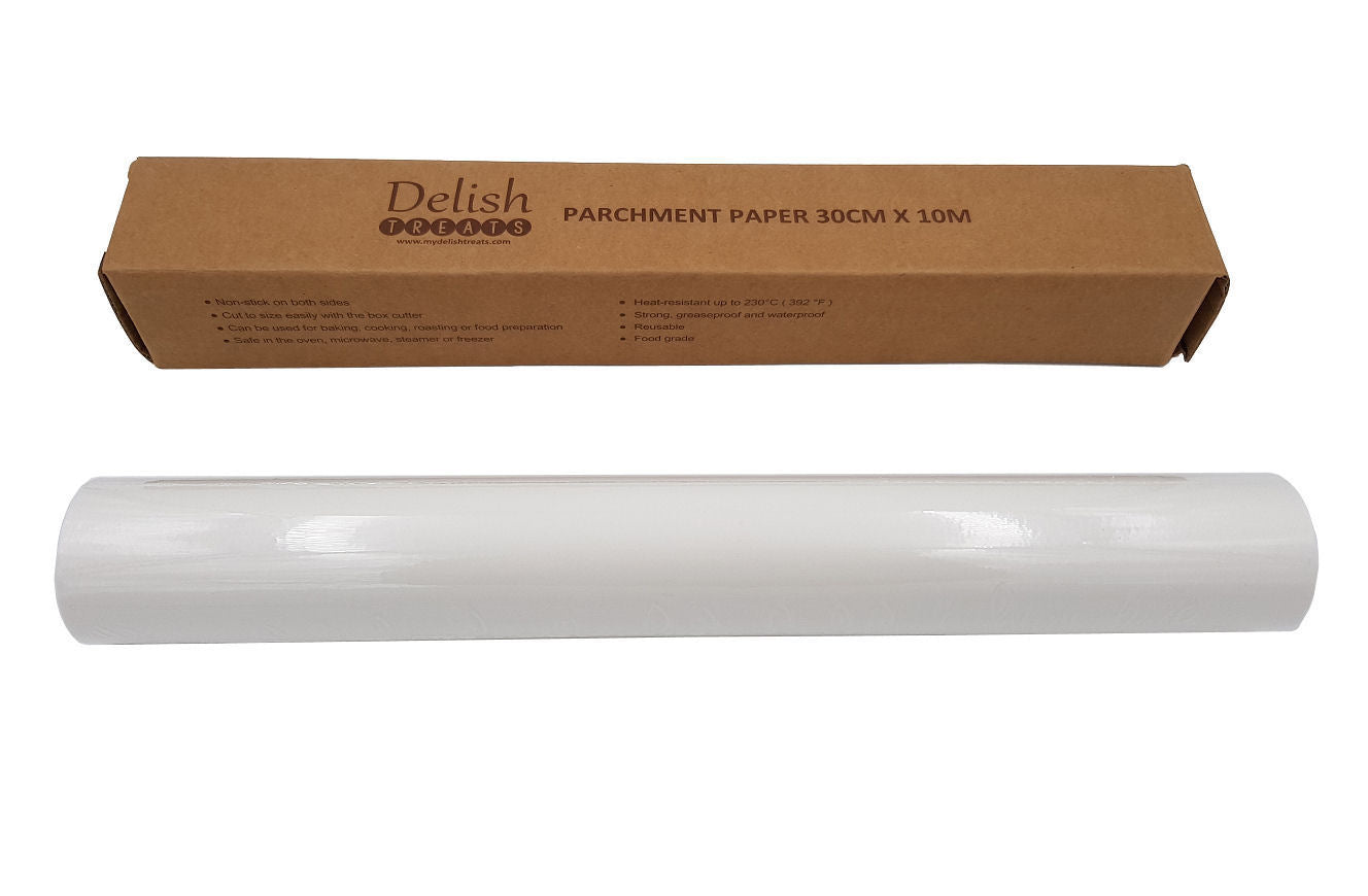 Delish Treats Parchment Paper (30cm x 10m) - Shopaholic for Kids