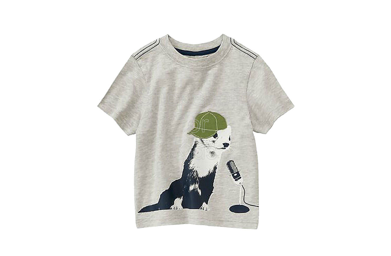 Crazy8 Party Animal Graphic Tee - Shopaholic for Kids