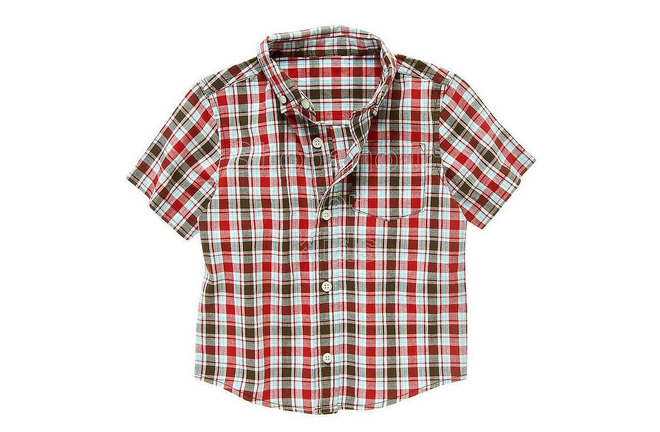 crazy8 Plaid Shirt Red Mini Plaid - Shopaholic for Kids