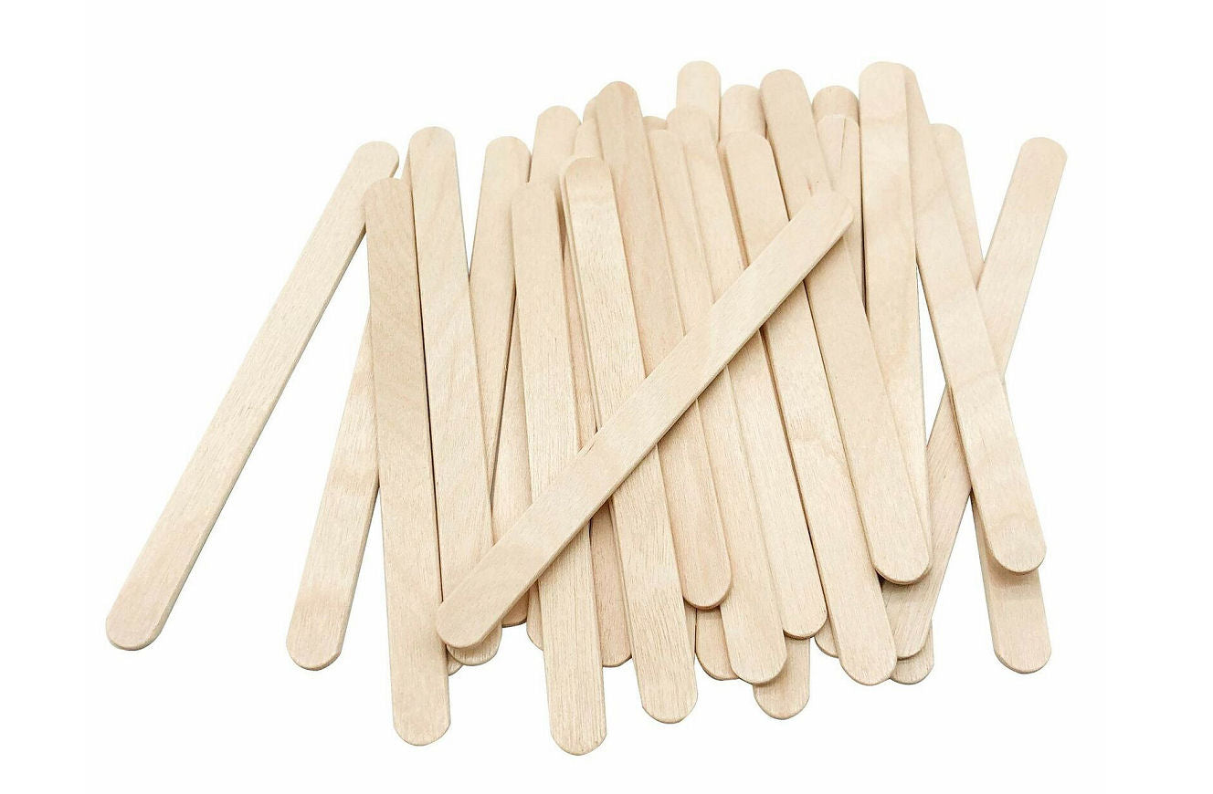 Delish Treats Popsicle Sticks (11.3cm) - Pack of 100pcs - Shopaholic for Kids