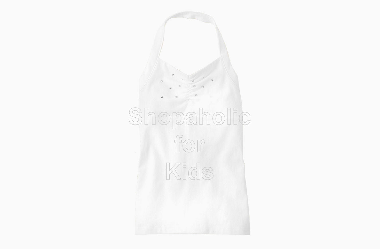 Children's Place Rhinestone Active Top White - Shopaholic for Kids