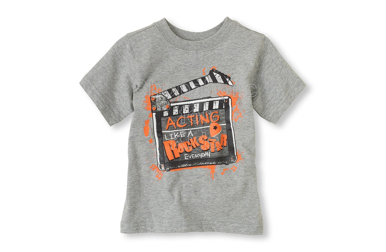 Children's Place Rock Star Graphic Tee - Shopaholic for Kids