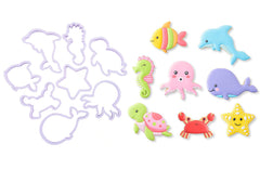 Delish Treats Cookie Cutter - Sea Animals - Shopaholic for Kids