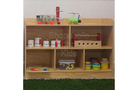 Shelf with Divider - Wood