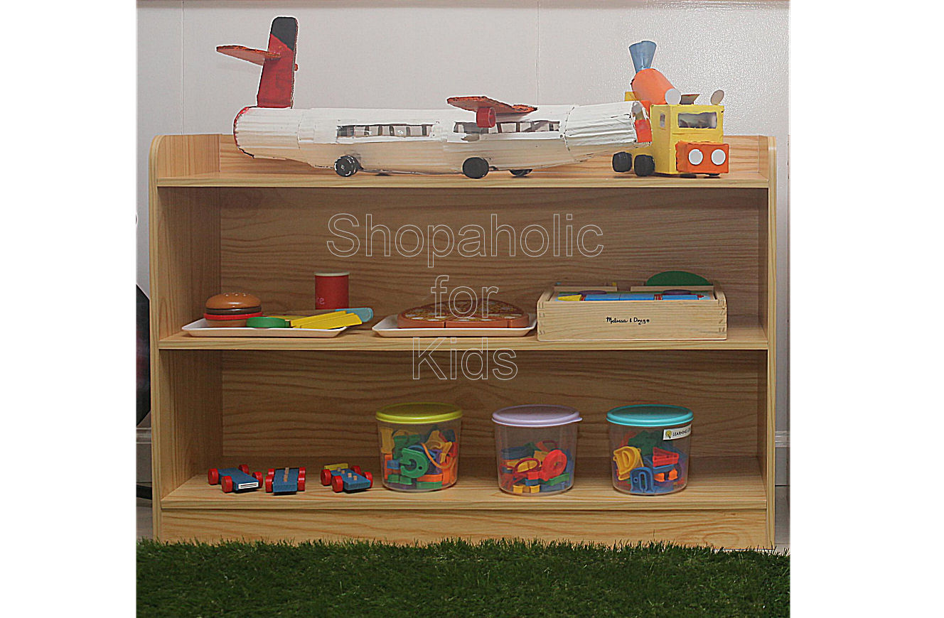Shelf - Wood - Shopaholic for Kids