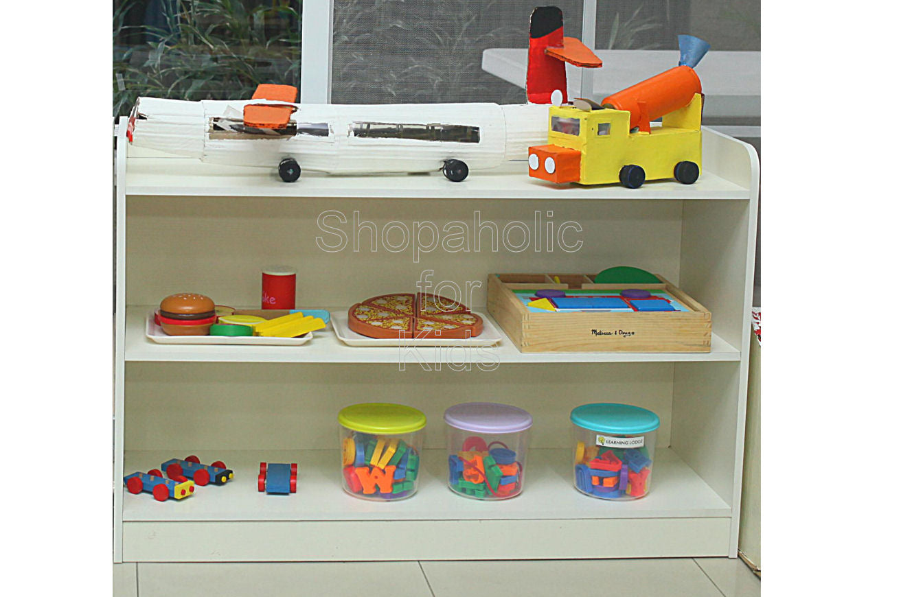 Shelf - White - Shopaholic for Kids